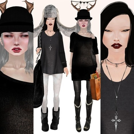 How do i look?: monochrome factor | Free Stuff in Second Life | Scoop.it