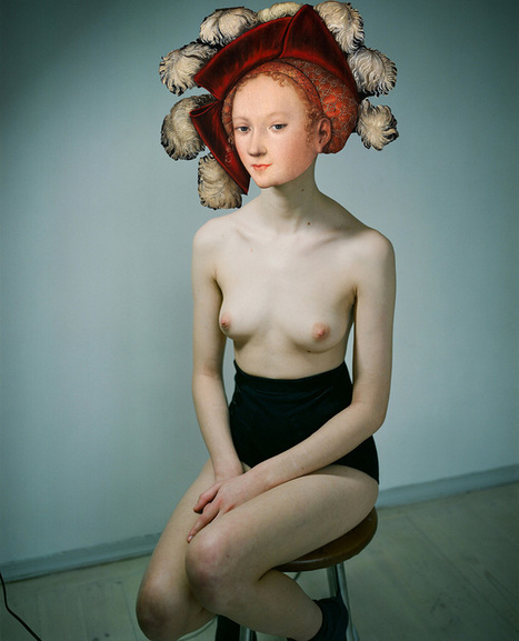 "Le ""Masks Show"" sensuel de la photographe biélorusse Masha Svyatogor 