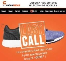 pretty nice 25619 5bed7 Super Bon Plan offre sneakers sur le site de Courir