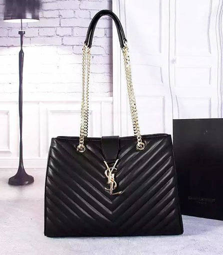 Classic Style YSL Monogramme 36cm Chains Shoulder Bag Only In  238 d9d41dc14c