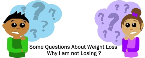 Some Questions About Weight Loss – Why I am not Losing? | Fat Burn | Scoop.it