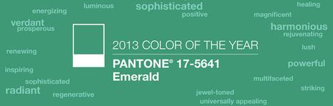 2013 Color of the Year: PANTONE 17-5641 Emerald | Designer's Resources | Scoop.it
