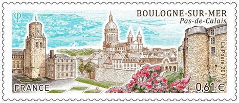 Boulogne : achetez en avant-première un nouveau timbre aux couleurs de la ville | Tourisme Boulogne-sur-Mer | Scoop.it