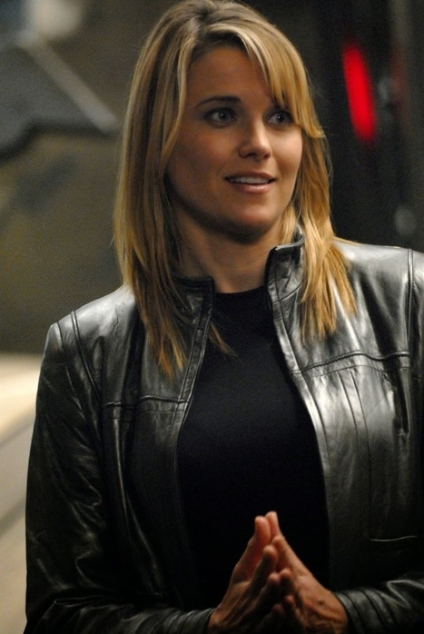 """Celebrity for the World: Lucy Lawless as """"Isabelle Hartley"""" in Agents of S.H.I.E.L.D. 