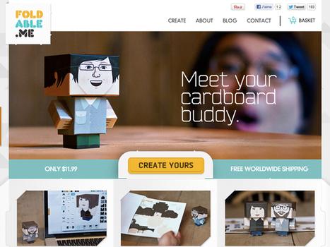 Foldable.me, pour créer une mascotte à votre image | Time to Learn | Scoop.it