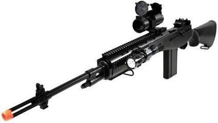 400 FPS M14 Spring Airsoft Sniper Rifle AGM Gun... M14 Sniper Rifle Airsoft