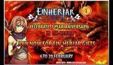Appirits announced One Year Anniversary in Einherjar | N4G | Einherjar - The Viking's Blood | Scoop.it