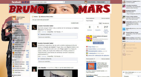 Theme for Facebook - Bruno Mars | Templah - Themes, Skins, Layouts and Templates | Themes for Facebook | Scoop.it