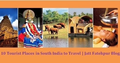 Top 10 Tourist Places in South India | Jatt Fat