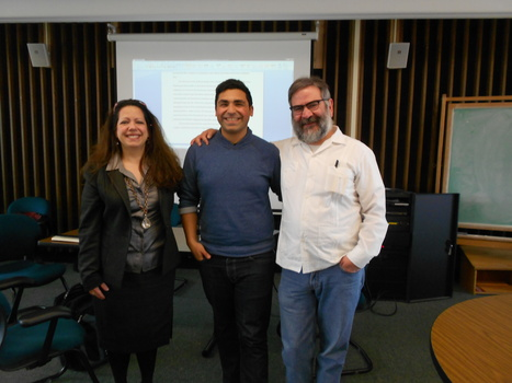 Santiago Vidales Defends MA Thesis | The UMass Amherst Spanish & Portuguese Program Newsletter | Scoop.it