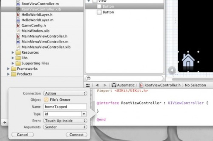 How To Integrate Cocos2D and UIKit | Ray Wenderlich | iPhone and iPad development | Scoop.it