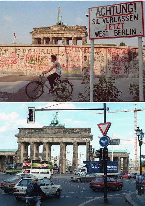 Photos: The 20th Anniversary of the Fall of the Berlin Wall – - PlogPlog Photo Blog | El muro de Berlín | Scoop.it