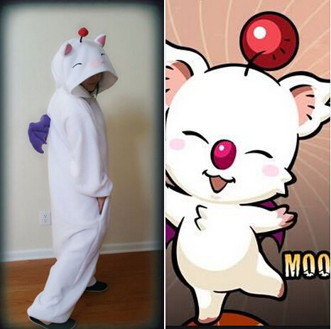 Moogle onesie costumes  3d23aef869532