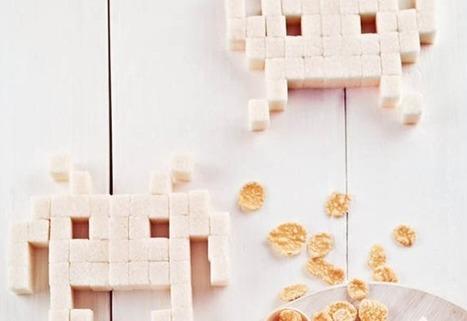 Pac-Man, Tetris et Space Invaders recréés pour votre petit-déjeuner | Geekerie&co | Scoop.it