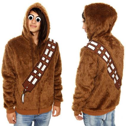 Furry Star Wars Chewbacca Hoodie | All Geeks | Scoop.it