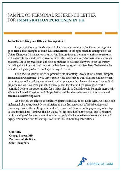 Immigration Reference Letter Sample from img.scoop.it