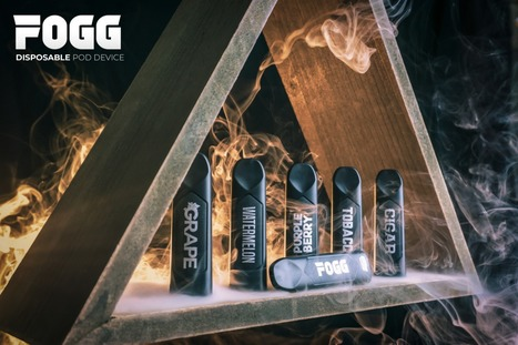 UAE DISPOSABLE POD DEVICE - FOGG VAPE | vapor w
