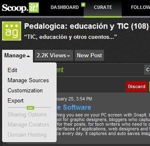 En la nube TIC: Scoop.it - sácale partido #contentcurator #curación #contenidos | Cultura Clásica en Jesús María | Scoop.it