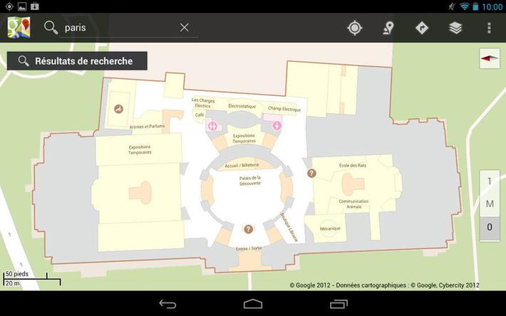 Géolocalisation Indoor au Palais de la découverte | Kiosque du monde : A la une | Scoop.it
