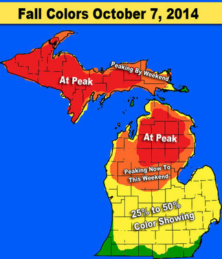 Michigan fall color update: This is the weekend to head north | The Miracle of Fall | Scoop.it