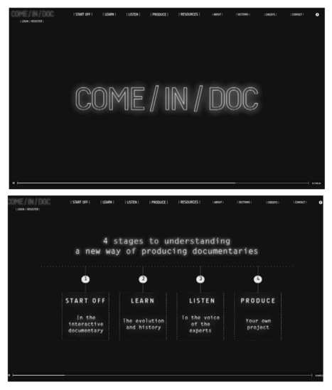 COME/IN/DOC - Interactive Documentary: learn, listen, produce | Documentary Evolution | Scoop.it
