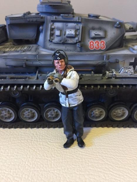 KronPrinz Winter Panzer Commanders | Military Miniatures H.Q. | Scoop.it