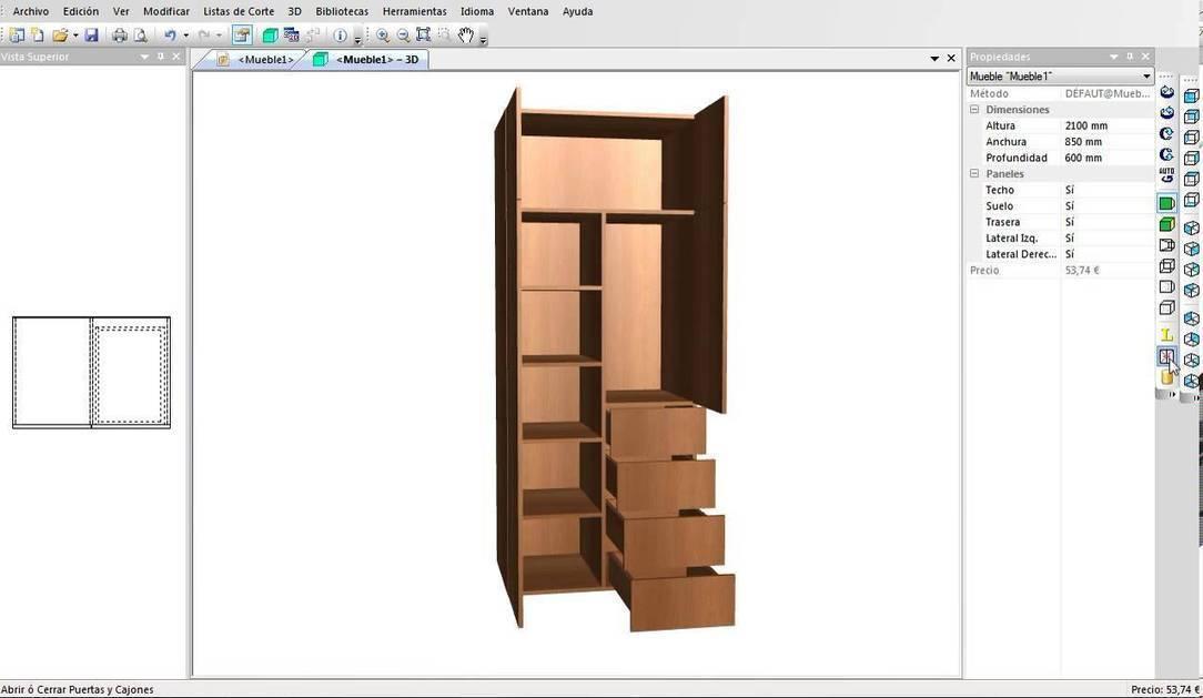 programa para dise ar muebles armarios