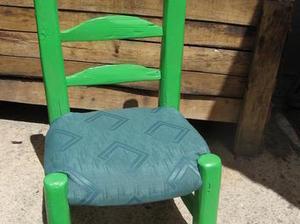 comment recouvrir une chaise ou un fauteuil id. Black Bedroom Furniture Sets. Home Design Ideas
