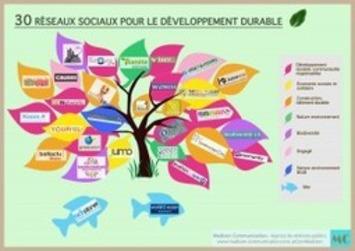 Plus de 30 réseaux sociaux pour le développement durable - Madison Communication | Bois, forêt, construction, bois énergie, ameublement et plus | Scoop.it