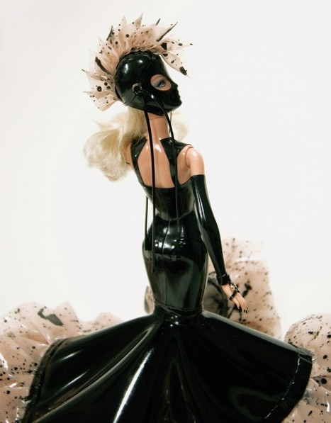 Latex Couture Barbie Goes Charity   LFN - latex fetish news   Scoop.it