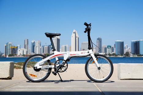 "Air-33 is a zippy, foldable e-bike that weighs just 33 pounds (""this is the only bike I ever wanted"") 