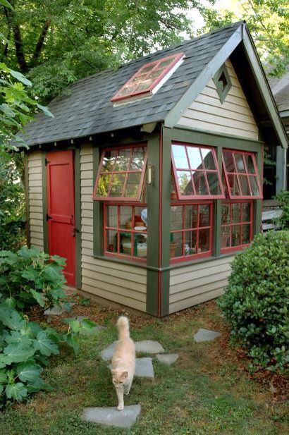 Garden Shed W/a Sunroof. Thatu0027s All I Want.   Mrs. Magoos