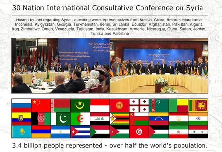Reps From Half the World's Population Meet to Resist Foreign Destabilization in Syria | MN News Hound | Scoop.it