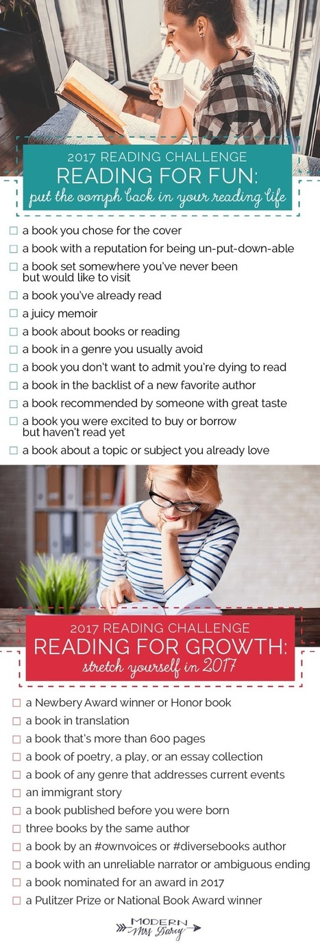 The 2017 Reading Challenge | The Reading Librarian | Scoop.it