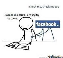 Homework VS Facebook | Cibereducação | Scoop.it