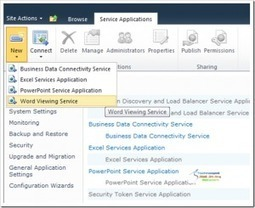How to Enable Office Web Apps on SharePoint2010 | All About SharePoint | Scoop.it