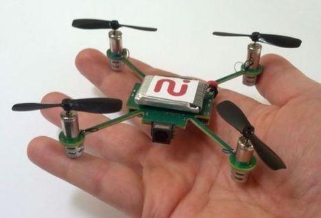 MeCam $49 flying camera concept follows you around, streams video to your phone - Liliputing | Arduino, Netduino, Rasperry Pi! | Scoop.it