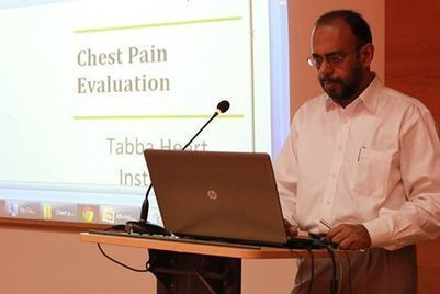 """CME on """"Chest Pain Evaluation""""... - Tabba Heart Institute 