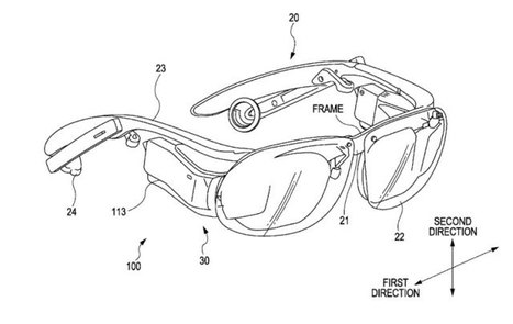 Sony Patent Reveals Google Glass Competitor With A Head Mounted Display For Each Eye | Knowledge for Entrepreneurs | Scoop.it