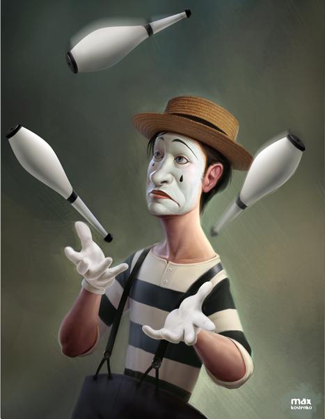 Max Kostenko   Illustrator   Digital Artist   les Artistes du Web   Scoop.it