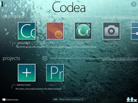 Codea, The Smart iPad Code Editor, Gets Its Big... | Innovative ICT | Scoop.it