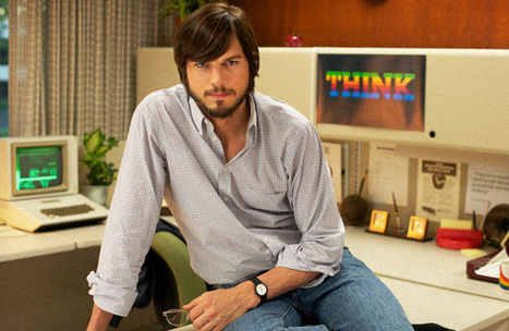 Ashton Kutcher Appears in New Publicity Shot for Steve Jobs Indie Film | AIDY Reviews... | Scoop.it