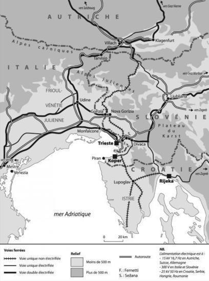 Les ports-frontières de Trieste, Koper et Rijeka, futurs débouchés pour les conteneurs d'Europe centrale (Méditerranée) | Géographie des Balkans | Scoop.it
