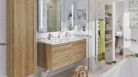 Aménager une salle de bains : les 5 règles à connaître | Céka décore | Scoop.it