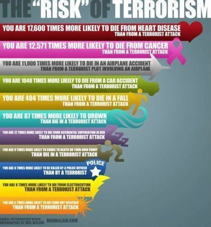 """Infographic: The """"risk"""" of """"terrorism"""" 