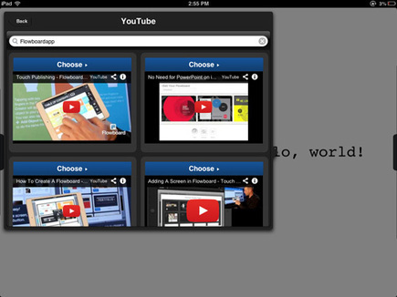 Flowboard 1.2 - new features | E-Portfolio | Scoop.it
