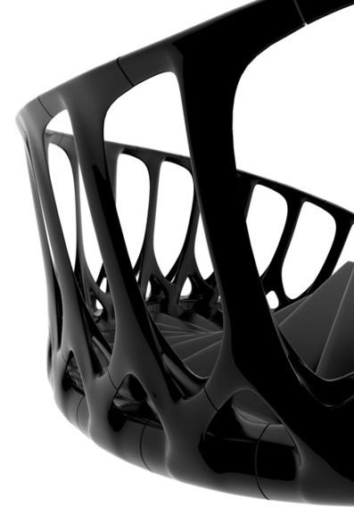 Andrew McConnellによるVertebrae Staircase脊椎骨の階段 | DA | アート/デザイン | Scoop.it