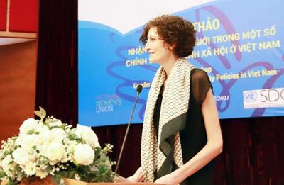 Promouvoir l'égalité des sexes dans le système d'assurance sociale et de sécurité sociale au Vietnam | Société | Vietnam+ (VietnamPlus)