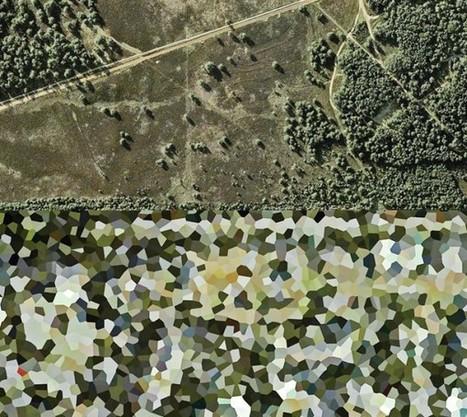 Pixelizing Dutch Landscapes | Geography Education | Scoop.it