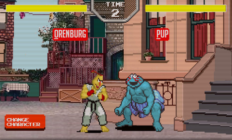 Sesame Street Fighter Is The Logical Fusion Of Two Childhood Favorites | relevant entertainment | Scoop.it